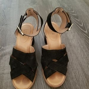 Ugg black size 6 block heel